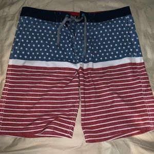 Mossimo supply co. Size 38 American swim trunks